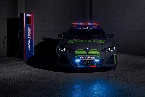 BMW M revela safety car totalmente elétrico para MotoE