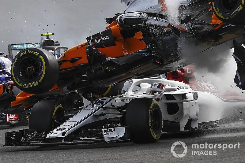 Exkluzív F1-es animációs videó: így védte meg a Halo Leclercet a súlyos fejsérüléstől