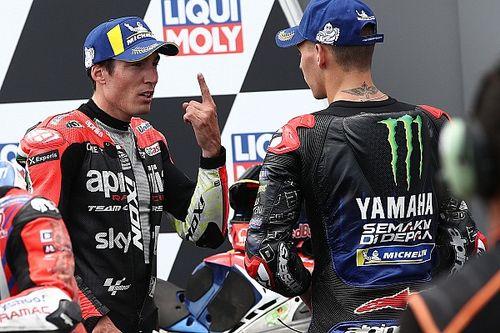 MotoGP-kwalificatieduels: De stand na de GP van Duitsland