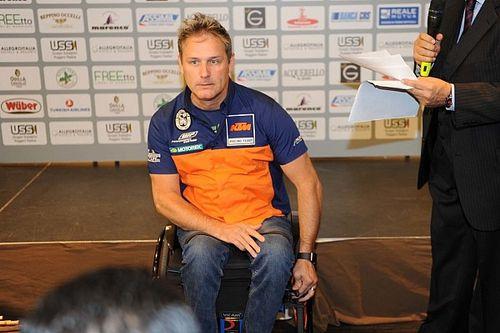 Il paraplegico Nicola Dutto costretto a passare alla licenza spagnola