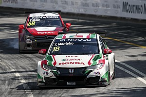 WTCC Race report Vila Real WTCC: Monteiro keeps Muller at bay to take home win