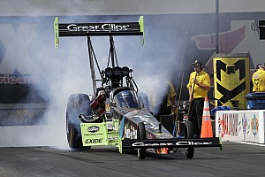 NHRA Qualifying report Millican, Beckman, Anderson And Savoie secure No. 1 qualifiers Saturday at Las Vegas