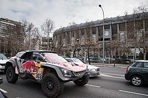 Dakar Különleges esemény Madridban parádézott a Dakar győztes párosa