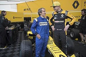 Fórmula 1 Noticias VIDEO: Prost y Hulkenberg en el Roadshow en Niza