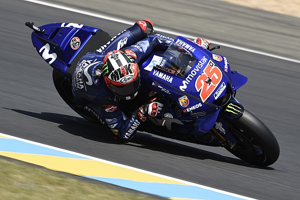 MotoGP Testverslag Viñales snelste in bandentest in Barcelona