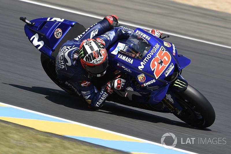 Le Mans, Libere 3: Vinales e la Yamaha rialzano la testa