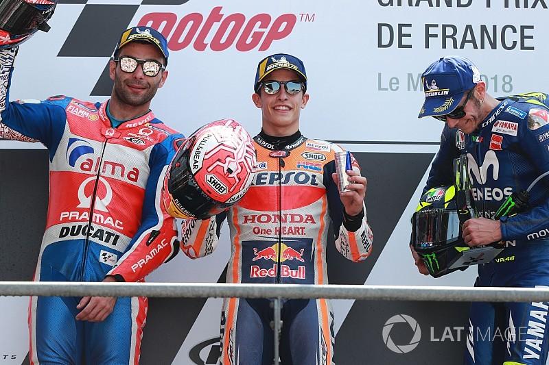 Alle MotoGP-Sieger des GP Frankreich in Le Mans seit 2002