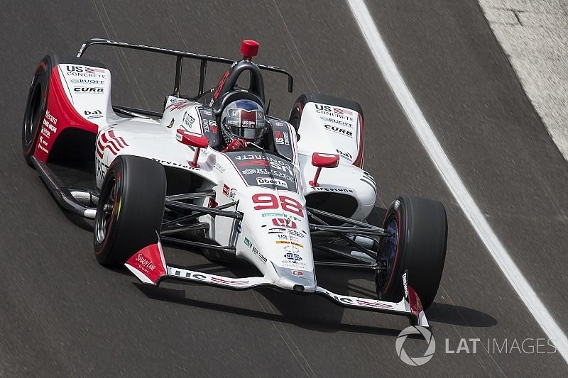 Marco Andretti termine Fast Friday en tête