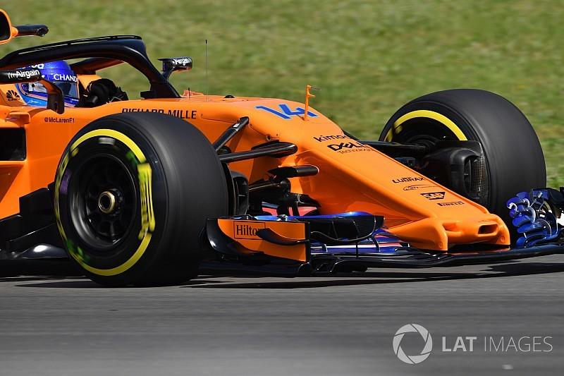 Le nouveau package aéro de McLaren décrypté