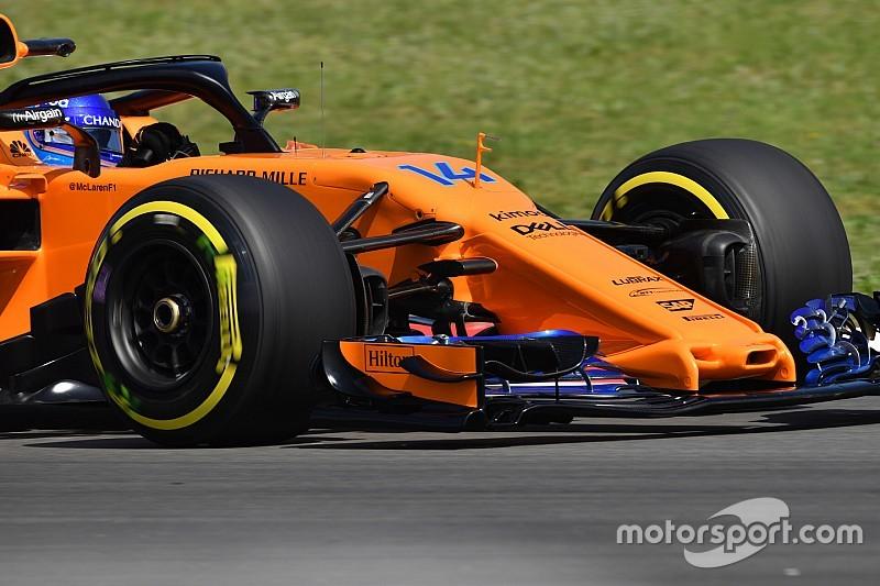 Las sorprendentes mejoras del McLaren en detalle