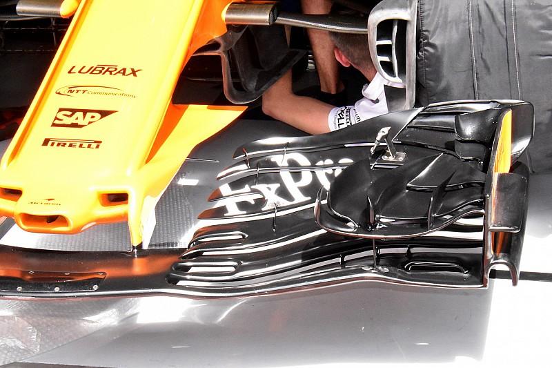 McLaren: sulla nuova ala anteriore sono stati stravolti tutti i concetti precedenti