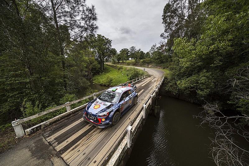 Le Rallye d'Australie mis sous pression par les équipes WRC