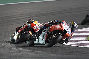 MotoGP Réactions Dovizioso ne s'attendait pas à finir la course avec Márquez