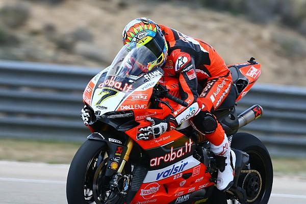 Chaz Davies gana el pulso a Rea en Aragón