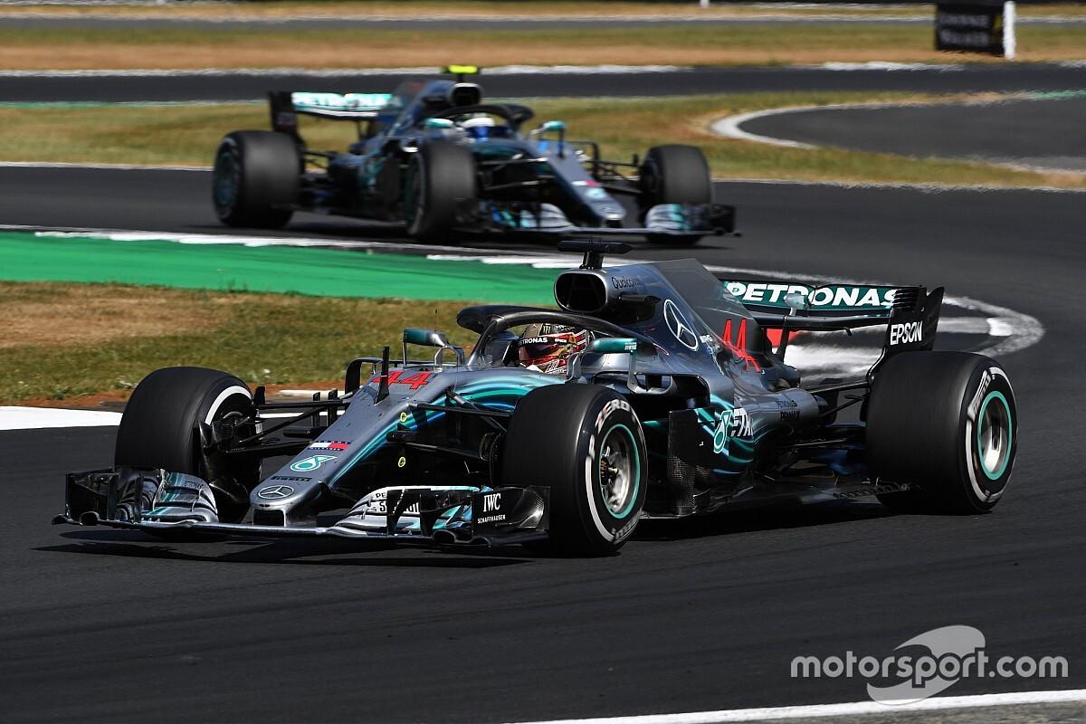 Hamilton en Mercedes tellen zegeningen: Comeback op Silverstone is goud waard