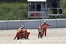 MotoGP Dovizioso : Une chute dure à encaisser, mais tout peut encore arriver