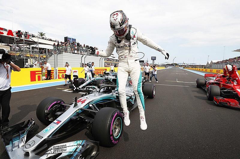 Hamilton nyerte a Francia Nagydíj időmérőjét: Vettel csak a harmadik