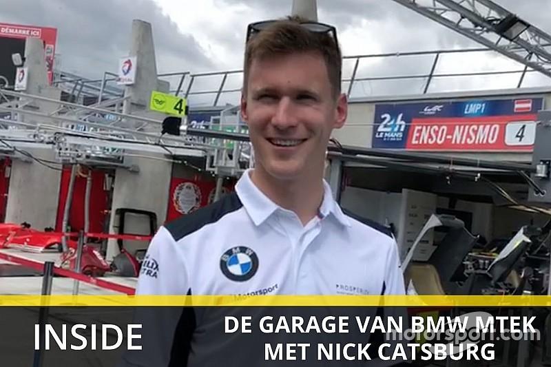 Exclusief kijkje achter de schermen op Le Mans met Nick Catsburg