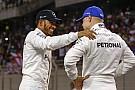 """Forma-1 Hamilton: """"Teljesen más a kapcsolatom Bottasszal, mint Rosberggel"""""""