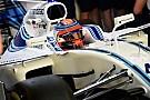 Kubica roulera lors des tests de Barcelone