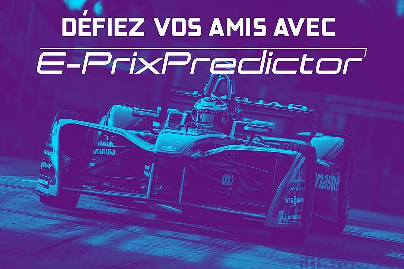 Défiez vos amis avec E-Prix Predictor!