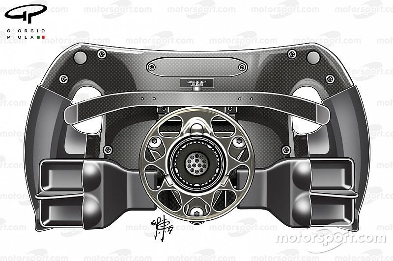 الكشف عن تصميم مقود مرسيدس للمساعدة في الانطلاقات في 2017