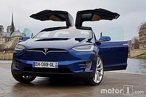 Auto Actualités Essai du Tesla Model X - Les ailes du désir!