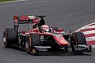 FIA F2 McLaren junior Matsushita tops first day of F2 testing
