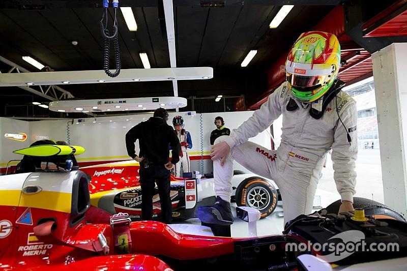 Merhi, a punto para volver a la F2 con Campos en Rusia