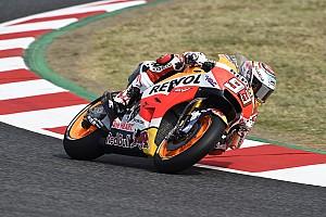 MotoGP Reporte de pruebas Márquez lidera el primer día en Barcelona; Viñales, perdido