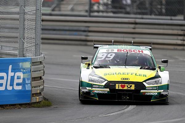 DTM Rockenfeller y Paffett llevados al hospital tras fuerte accidente en Norisring