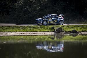 ERC Prova speciale Zlín, PS12: Kopecký vola, Pech è fuori, Kostka sul podio