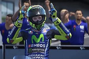 eSports Special feature Aksi Valentino Rossi di video game MotoGP 17
