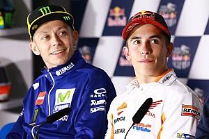 MotoGP Últimas notícias Rossi: Márquez é quem tem limitado melhor danos em 2017