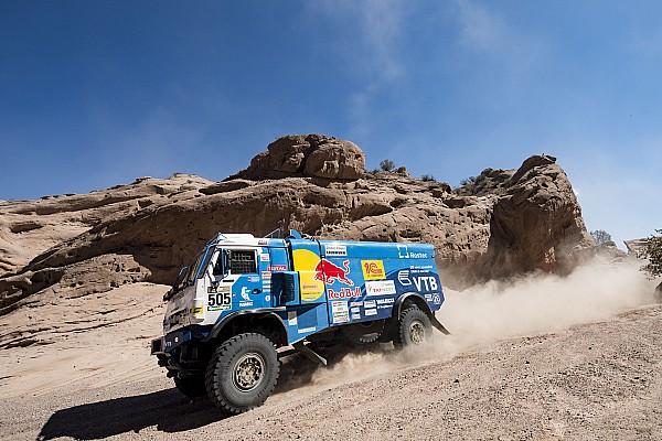 Dakar Dakar 2017, Stage 11: Nikolaev closes on second trucks victory