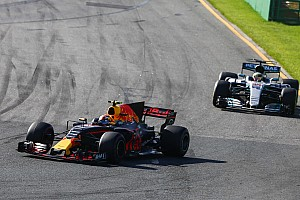 Vettel: I got lucky with Verstappen