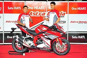 ATC Breaking news AHM kirim tiga pembalap ke Asia Talent Cup 2017