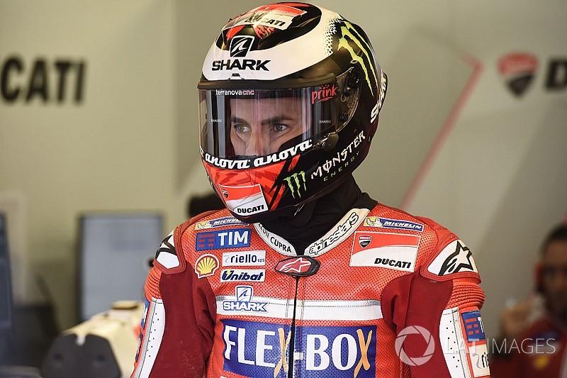 """Lorenzo : """"J'ai pensé que je m'étais cassé le tibia"""""""