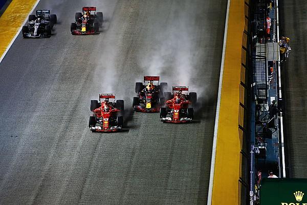 F1-Startunfall in Singapur: Verstappen schiebt Schuld auf Vettel