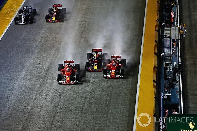 """Verstappen over schuldvraag: """"Vettel zat fout"""""""