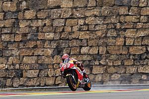 Aragon MotoGP 3. Antrenman: Kuru zeminde Marquez lider!