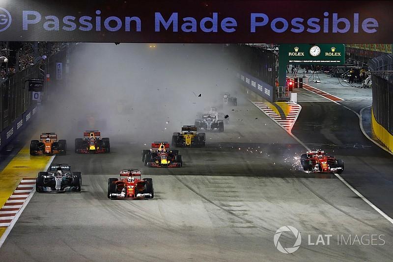 """A pillanat, amikor a két Ferrari egymást """"ütötte ki"""""""