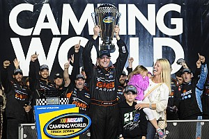 NASCAR Truck Race report Johnny Sauter is crowned Truck Series champion as Byron wins finale