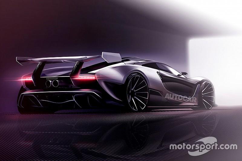 McLaren P15 - найекстремальніший за попередні роки