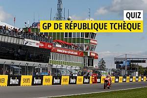 MotoGP Contenu spécial Quiz - Connaissez-vous bien le GP de République Tchèque?