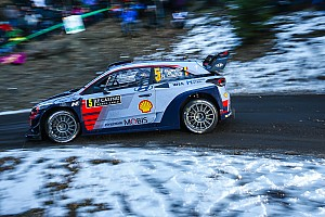 WRC Leg report Monte Carlo WRC: Neuville keeps lead as Ogier fights back