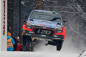WRC Race report Paddon and Kennard make WRC history in Sweden