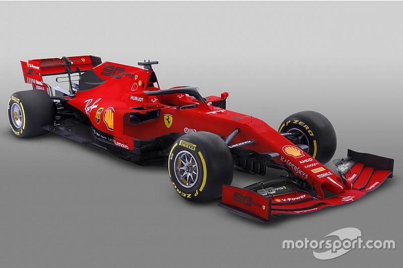 Ferrari dévoile sa livrée temporaire sans Mission Winnow