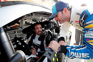 Alonso in Nascar? Wilson, Toyota: