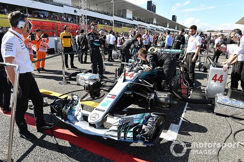 Éles körülmények között is tesztelhetik a fordított rajtrácsot az F1-ben?